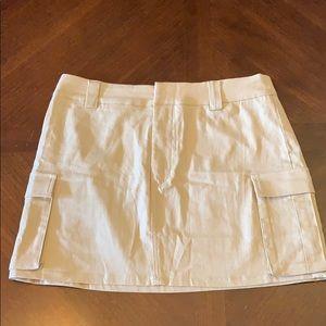 Mini cargo skirt